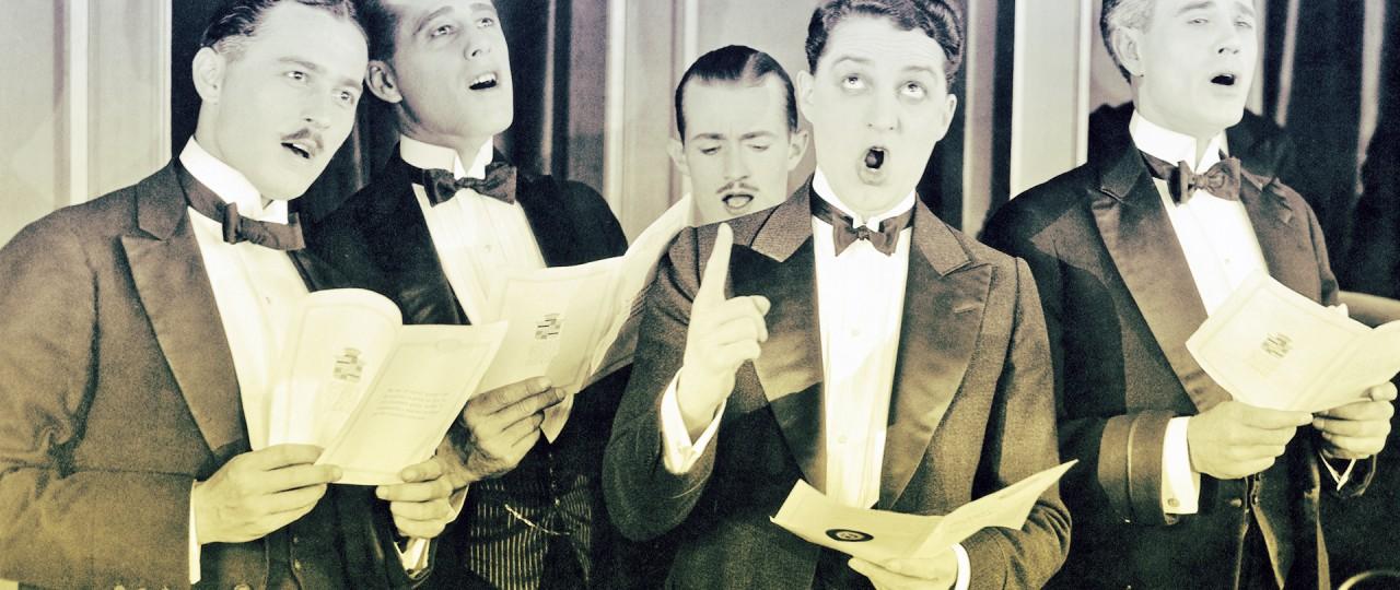 uomini che cantano