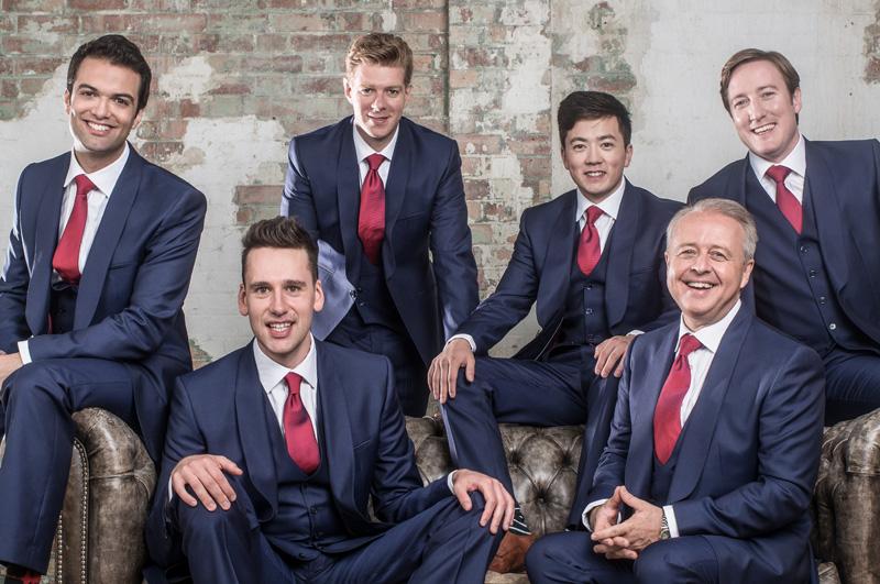 The King's Singers, tra i più longevi e rinomati gruppi vocali a cappella maschili del mondo.