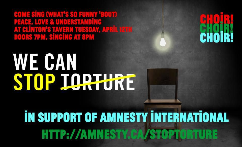 C!C!C! e Amnesty International contro la tortura