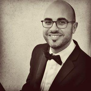 Carlo Rinaldi, giovane direttore di coro.