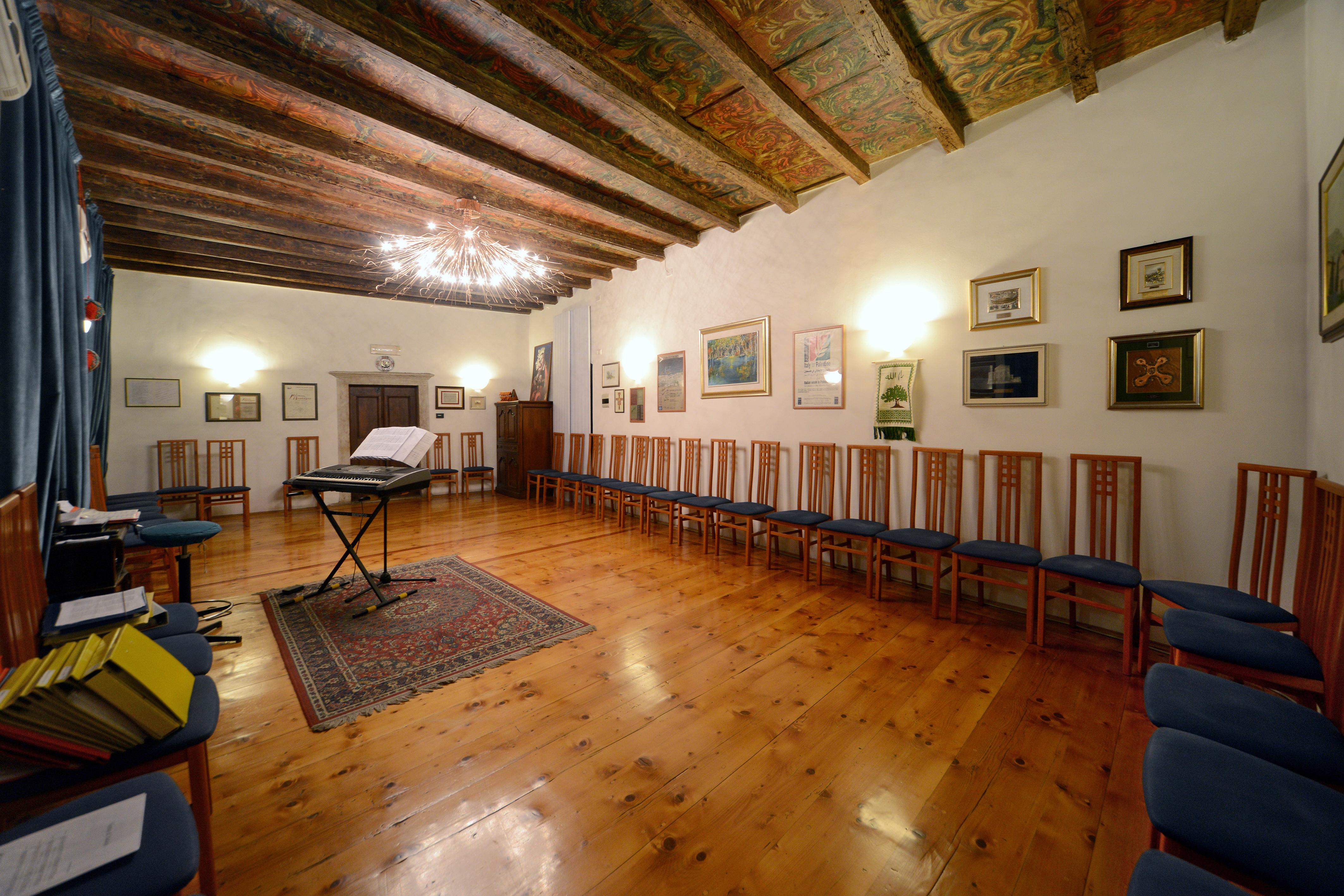La sede del Coro S.Ilario (foto di Florio Badocchi).