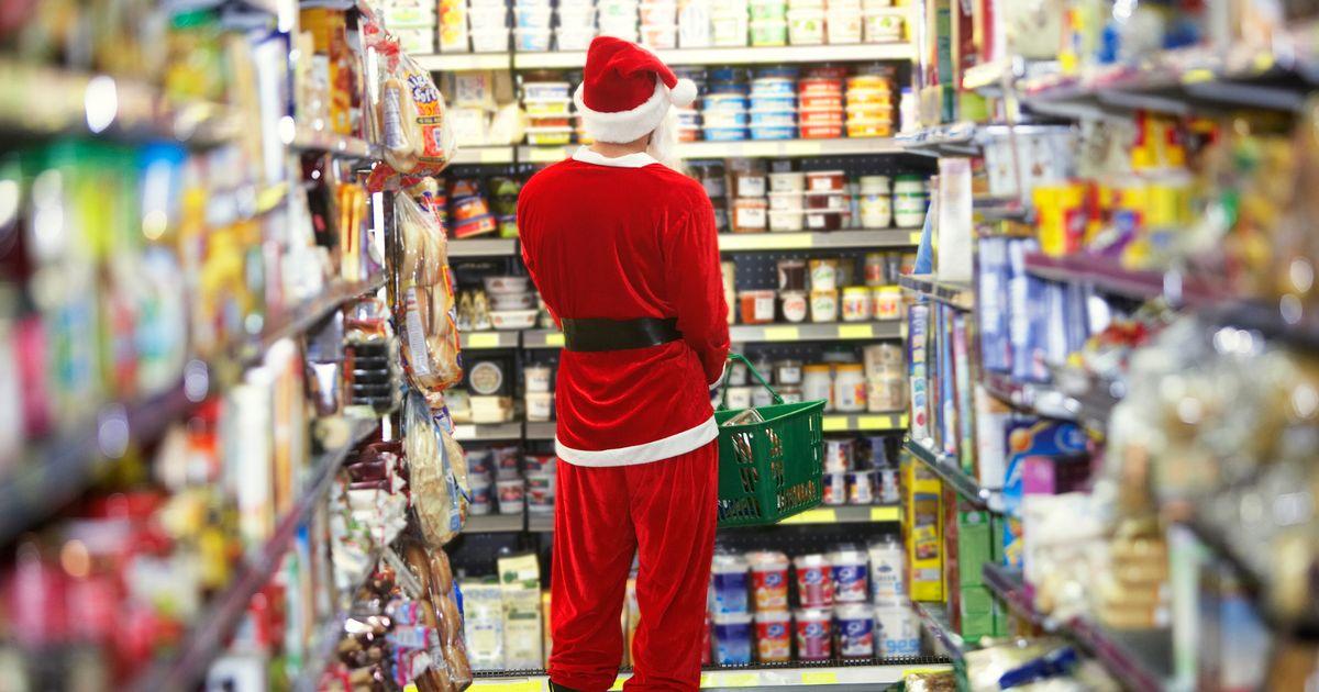 I supermercati sono il primo posto dove approda il Natale (e la musica natalizia).